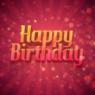 Template design posters postcards greeting cards brochures a happy birthday