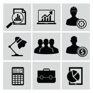 Business Icons Vector N3