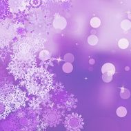 Christmas background with snowflakes EPS 8 N6