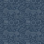 office line icon pattern set N9