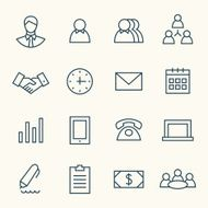 Business Icons N79