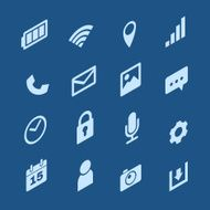 Mobile Phone Icons N6