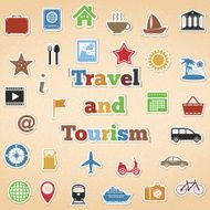 Travel And Tourism Icons N3