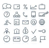 Business Icons N84