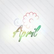 April Typography