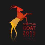 Chinese New Year 2015 of goat N2