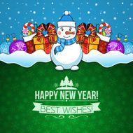 New year holiday background N10