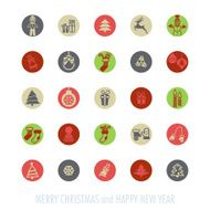 Christmas icons set N109