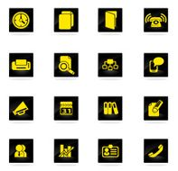 office icons set N28