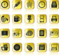 Business and Office tools icons N7