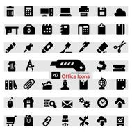 Office icon set N21