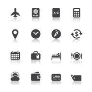 Travel Icons for application N2