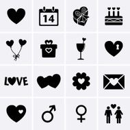 Valentines Day Icons N6