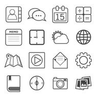 Application icons N8