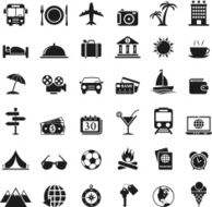 Travel Icons Set N7