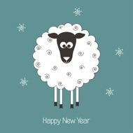 New Year sheep N2