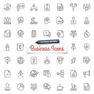 Hand-Drawn Business Icons
