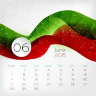 Calendar Vector illustration N18