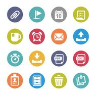 Office Icons - Circle Series