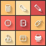 Vector design flat icons N2