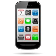 Smartphone with App Icons N2