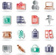 Business and Office icons N71