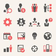 Internet Business Icon Set N2