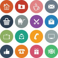 Universal Icon Set For Website & Mobile N236