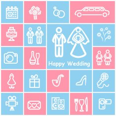 Wedding Icons N6
