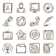 Communication Icons N35