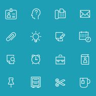 Icon Set Office N7