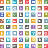 Internet and Web icons N7