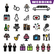 Wedding Icons N7