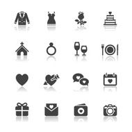 Wedding and Love Icons N5