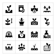 Set icons of seed and seedling N2