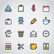 Office Fabrico icons