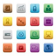 Business Icons Color Collection Series