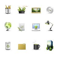 green business icons N2