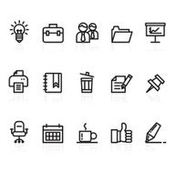 Business and Office icons N97