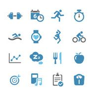Fitness Icons - Conc Series
