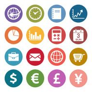 Info icon Finance and currency