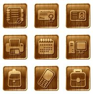 glossy wooden icons vol 10