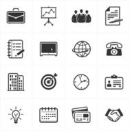 office and business icons N68