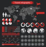 Travel infographic elements N4