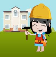 Little Girls - Professions builder