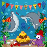 birthday marine animals