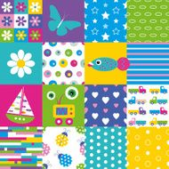 happy patchwork pattern collection N2