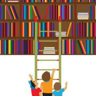 Children and books Reading education knowledge learning fla