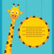 Giraffe - Illustration