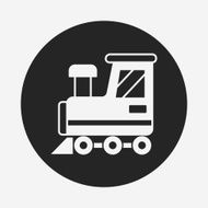 baby toy train icon